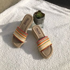 """""""Mudd"""" Colorful Sandals"""